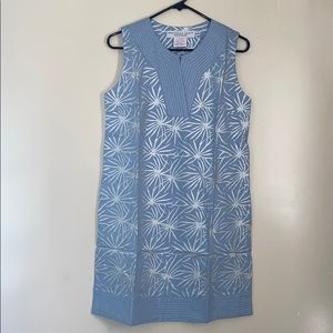 Gretchen Scott Designs Baby Blue Sun Dress NWT
